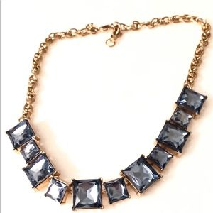 Banana Republic staggered blue gemstone necklace